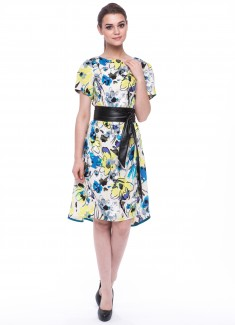 Women dress Amaryllis
