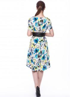 Women dress Amaryllis-4