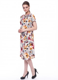 Women dress Begonia-1