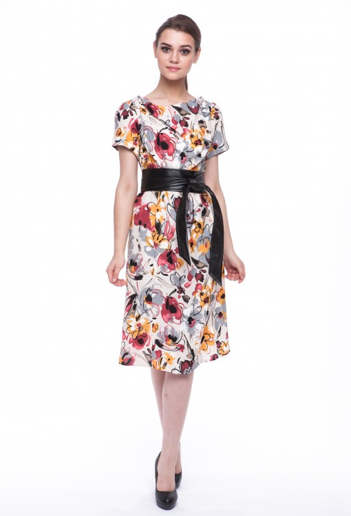 Women dress Begonia-3