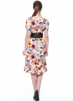 Women dress Begonia-5
