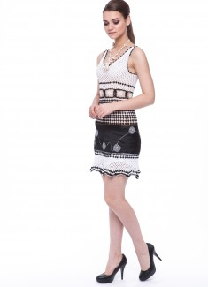 Women dress Camomile-1