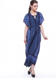 Women dress Cornflower-1