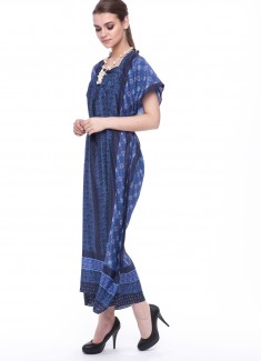 Women dress Cornflower-2
