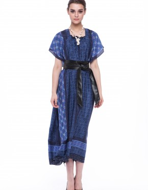Women dress Cornflower