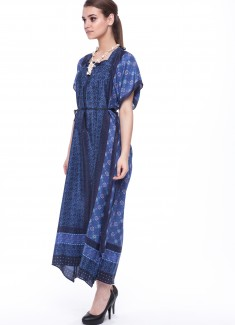 Women dress Cornflower-3