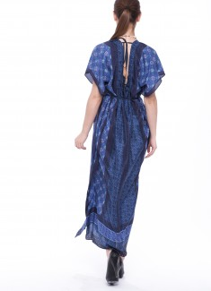 Women dress Cornflower-4