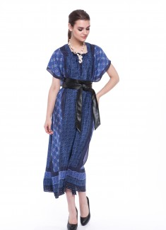 Women dress Cornflower-5