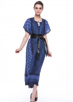 Women dress Cornflower-6