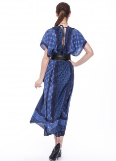 Women dress Cornflower-7