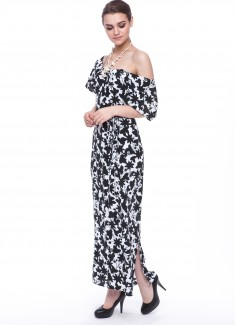 Women dress Hyacinth long-4