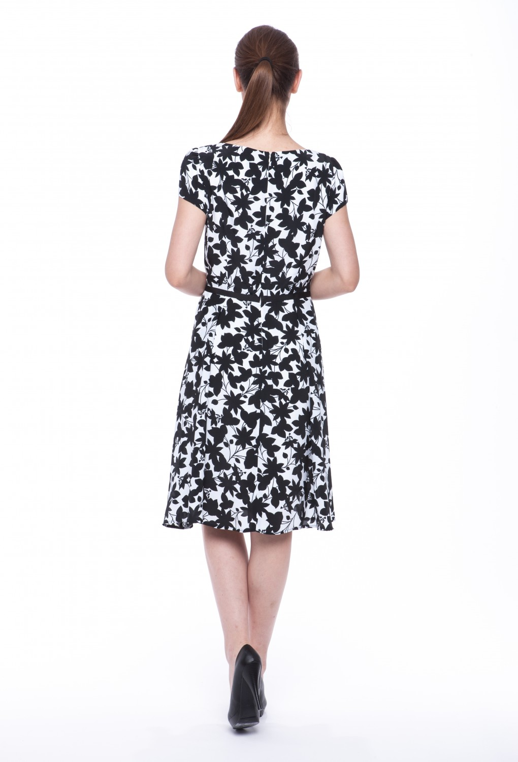 "Summer dress ""Hyacinth"" with sleeves 