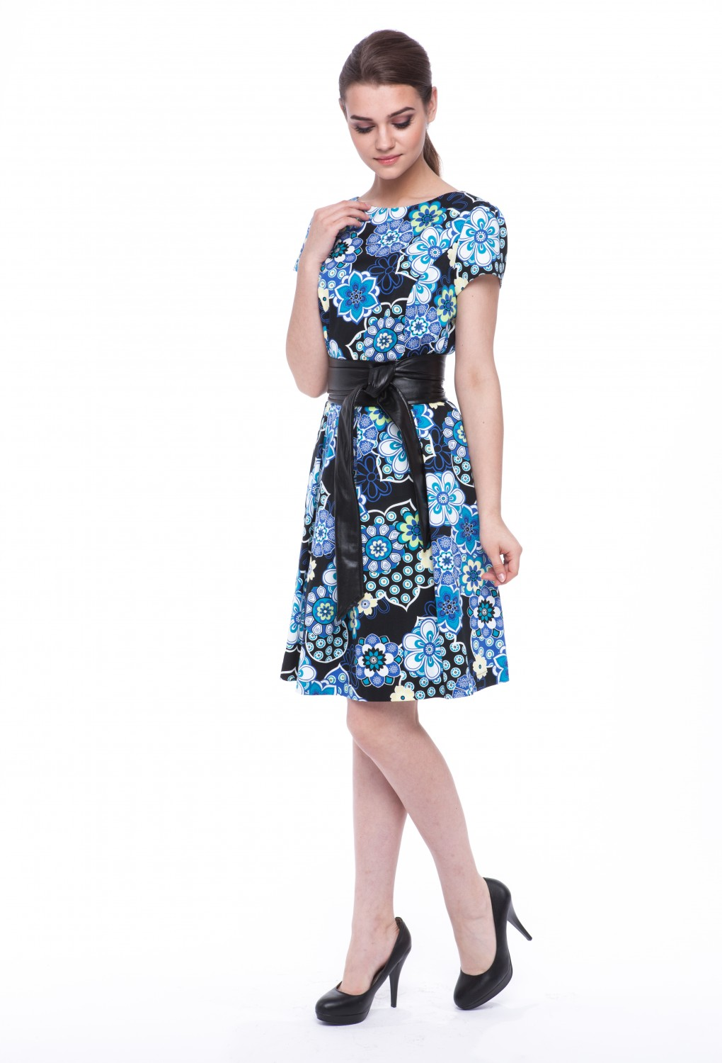"Summer dress ""Ivy"" with sleeves 