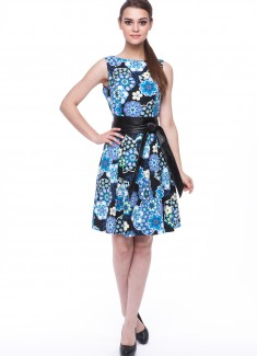 Women dress Ivy without sleeves-5