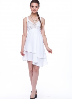 Women dress Lavender-2