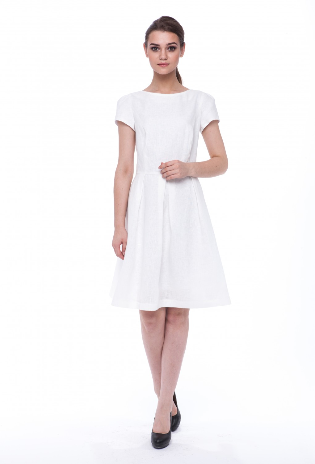 "Summer dress ""Lotus"" with short sleeves 