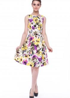 Women dress Mimosa-1