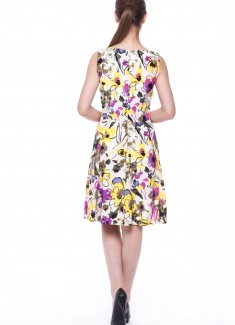 Women dress Mimosa-3