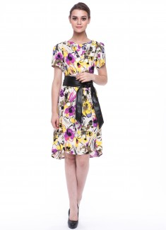 Women dress Orchid-1