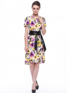 Women dress Orchid-2