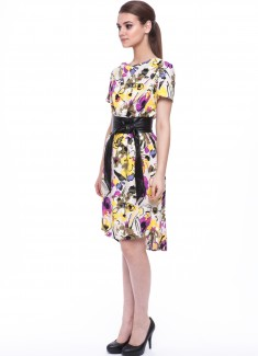 Women dress Orchid-3