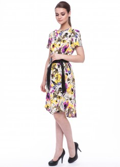 Women dress Orchid-4