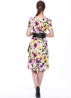 Women dress Orchid-5