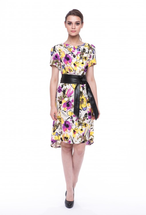 Women dress Orchid