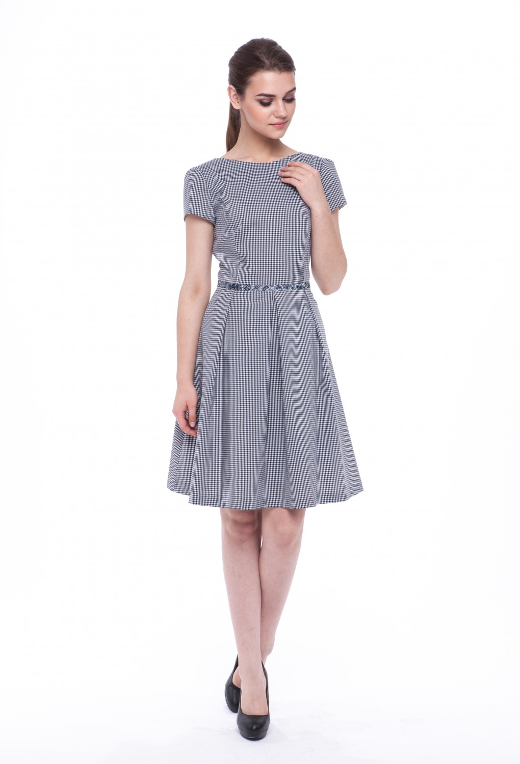 "Summer dress ""Primrose"" with sleeves 