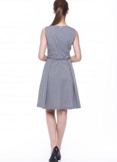 Women dress Primrose without sleeves-2