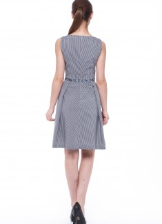 Women dress Primrose without sleeves-4