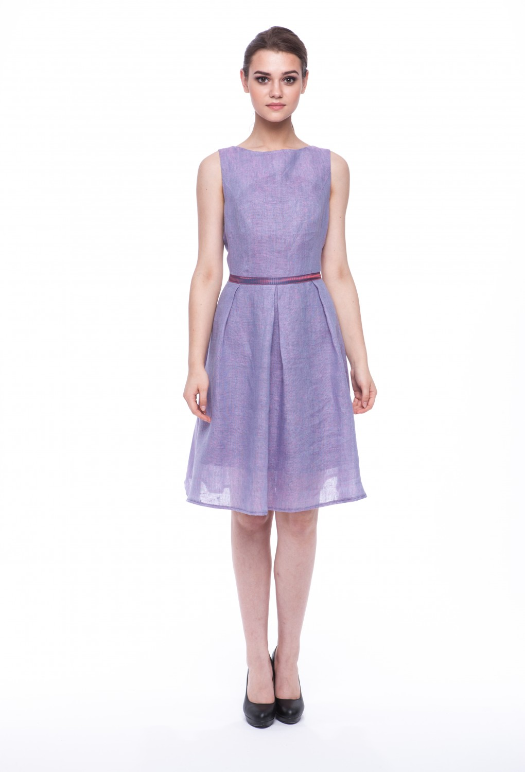 "Summer dress ""Violet"" without sleeves 