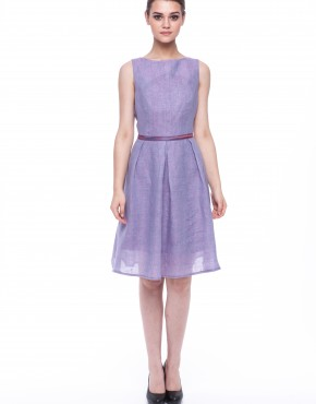 Women dress Violet without sleeves