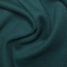 "Woolen Cashmere fabric ""Teal"""