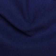 "80% Virgin Wool fabric ""Dark Indigo"""