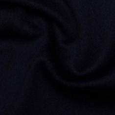 "100% Virgin Wool fabric ""Dark Blue"""