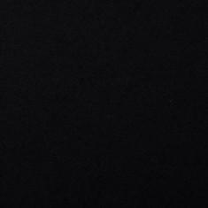 "80% Virgin Wool fabric ""Black"""